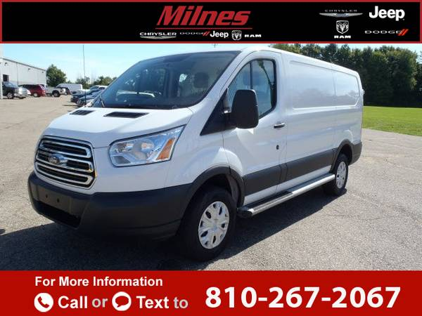 2015 *Ford* *Transit* *Cargo* *130* *WB* *Low* *Roof* 28k miles