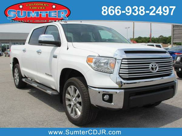 2016 *Toyota Tundra* LIMITED - White