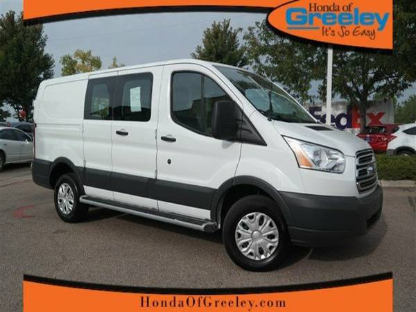 2015 Ford Transit Cargo Van T-250 130 Low Rf 9000 GVWR Swing-Out RH...