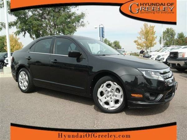 2011 Ford Fusion 4dr Sdn SE FWD 4dr Car