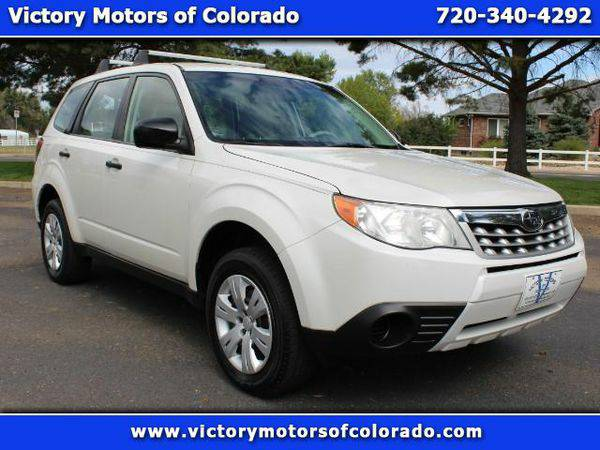 2012 *Subaru* *Forester* 2.5X - Over 500 Vehicles to Choose From!