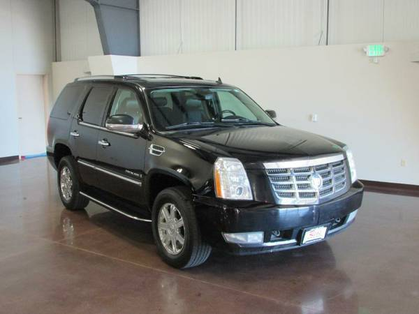 2009 CADILLAC ESCALADE BLACK AWD ULTRA LUX COLLECTION NAV DVD