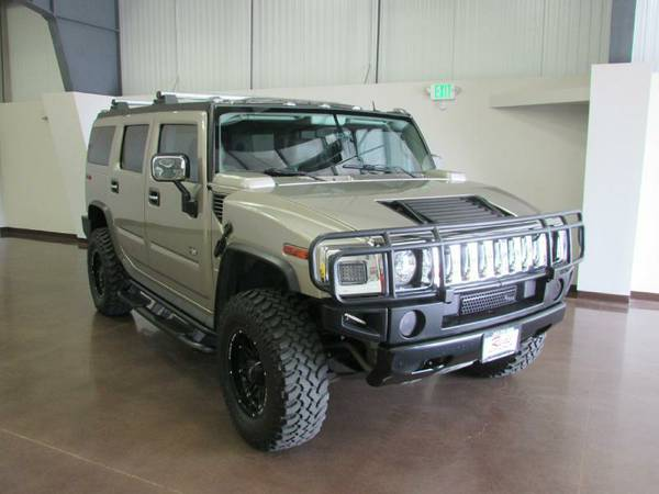 CARFAX CERTIFIED 2003 HUMMER H2