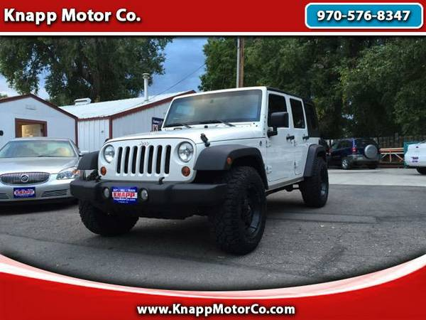 Wholesale Priced to Sell - 2010 Jeep Wrangler Unlimited Sport 4WD