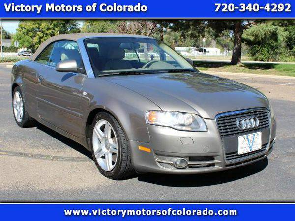 2007 *Audi* *A4* 2.0T Cabriolet with Multitronic - Over 500 Vehicles t