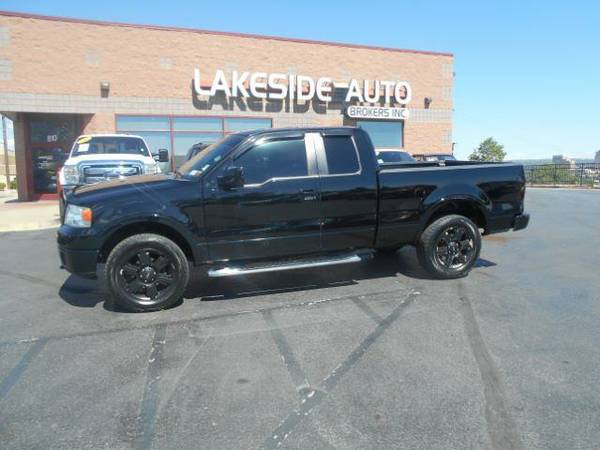 2007 Ford F150 LARIAT SuperCab 4wd Black/Black {David B}