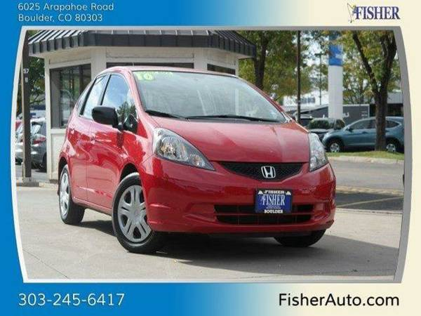 2010 Honda Fit 5dr HB Man 4dr Car 5dr HB Man