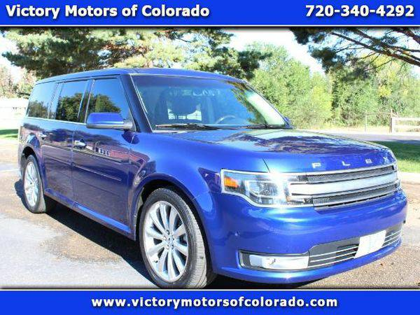 2013 *Ford* *Flex* Limited AWD w/EcoBoost - Over 500 Vehicles to Choos