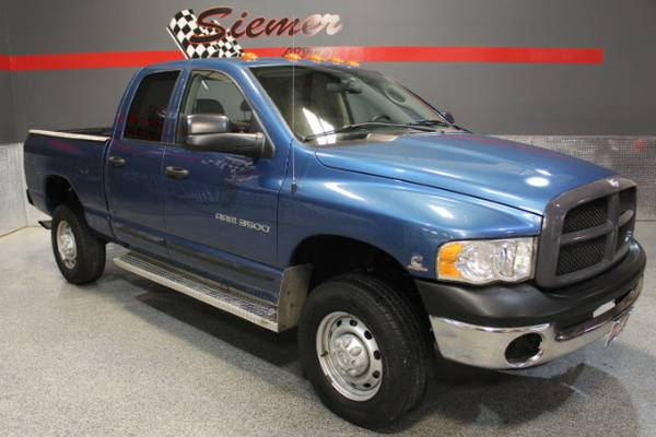 2005 Dodge Ram 3500 ST Quad Cab 4WD - TEXT US