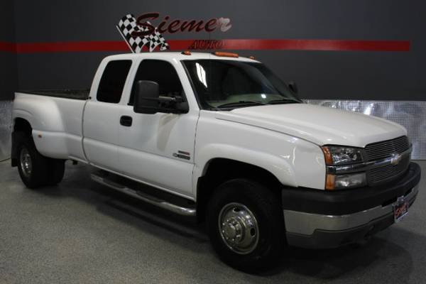 2004 Chevrolet Silverado 3500 Work Truck Ext. Cab 2WD - GIVE US A CALL