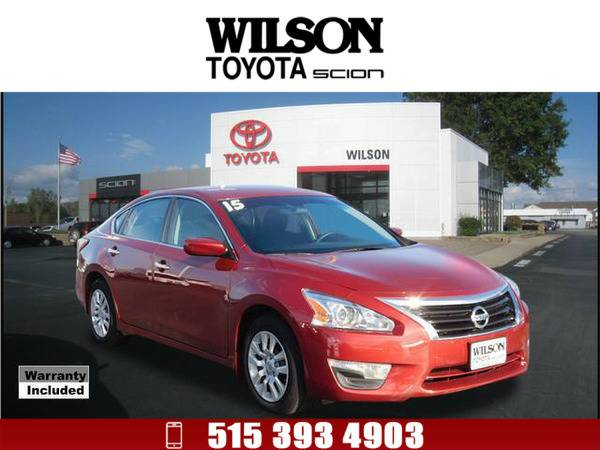 2015 Nissan Altima 2.5 S Red