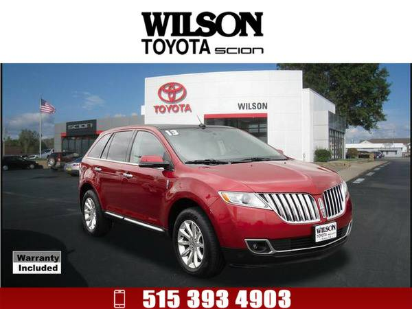 2013 Lincoln MKX Base Red
