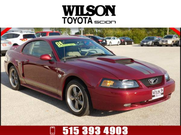 2004 Ford Mustang GT Deluxe Dk. Red