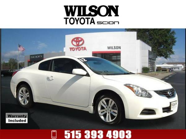 2012 Nissan Altima 2.5 S White
