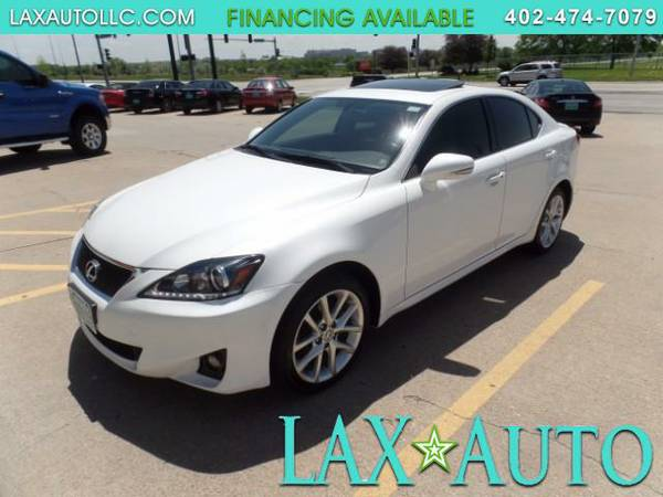 2012 Lexus IS 250 IS250 AWD 55K MILES -NAVI- BACK UP CAM