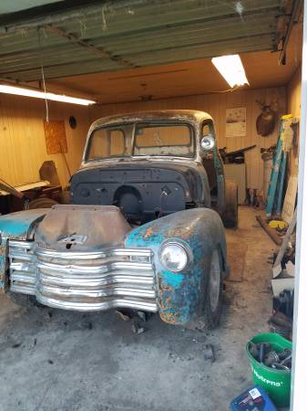 49 3600 and 53 3100 Chevy 5 window