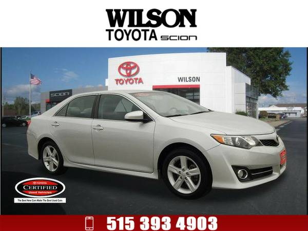 2014 Toyota Camry SE Silver