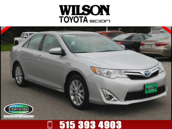 2013 Toyota Camry Hybrid XLE Silver