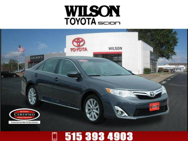 2013 Toyota Camry XLE Dk. Gray