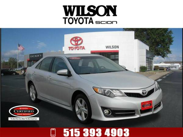 2013 Toyota Camry SE Silver