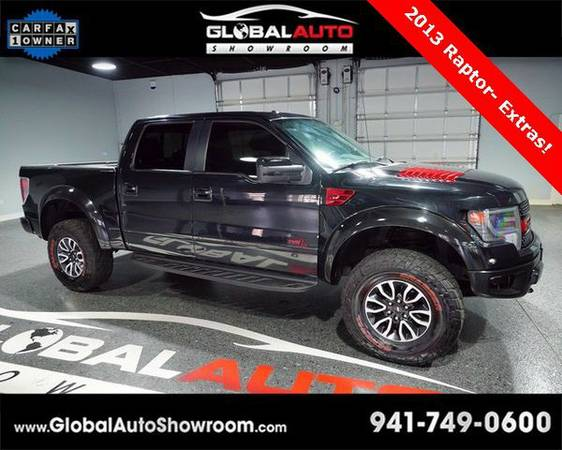 2013 *Ford* *F-150* *F 150* *F150* SVT Raptor *Over 100 in Stock-Indoo