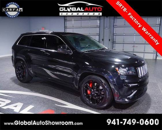 2012 *Jeep* *Grand* *Cherokee* SRT8 *Over 100 in Stock-Indoor Showroom