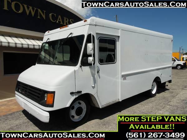 Chevy WORKHORSE Cargo Van Aluminum Chevy Cargo Van Food Truck Step Van