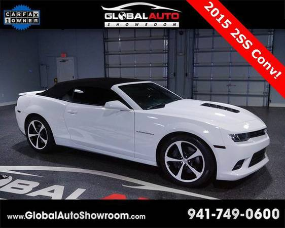 2015 *Chevrolet* *Camaro* SS *Over 100 in Stock-Indoor Showroom-SR 64