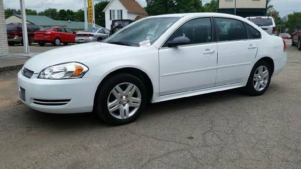 2012 Chevy Impala LT New Tires Moon Roof Runs and Drives Great 61k Mil