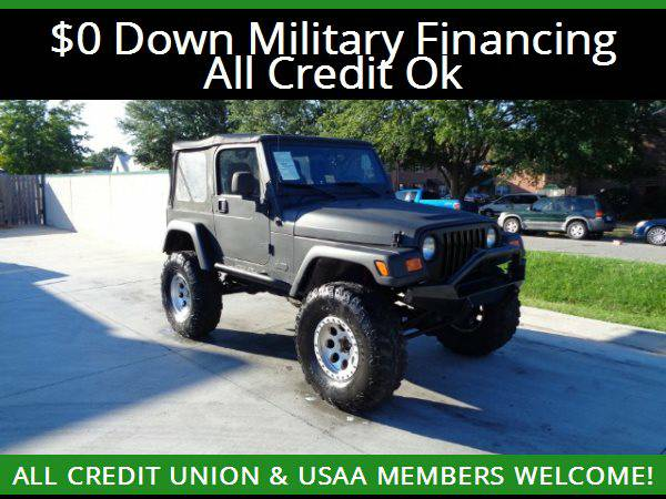 ★2006 Jeep Wrangler Rubicon 4WD LIFTED★$0 DOWN MILITARY...