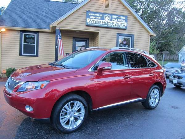 2010 LEXUS RX ~ $0 DOWN ON ANY PAID TRADE IN