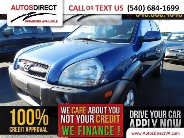 2005 Hyundai Tucson GLS/LX SUV Tucson Hyundai