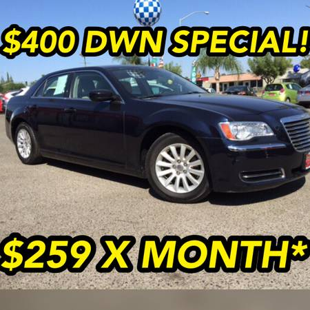 2012 CHRY 300 LIKE NEW!1 OWNER CAR FAX ! SPECIAL $400DWN /$259 MONTH*