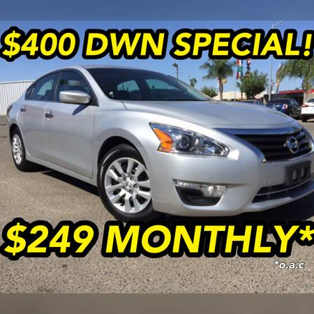 2015 NISSAN ALTIMA S LIKE NEW!SUMMER END SPECIAL!$400DWN/$249 MONTHLY*