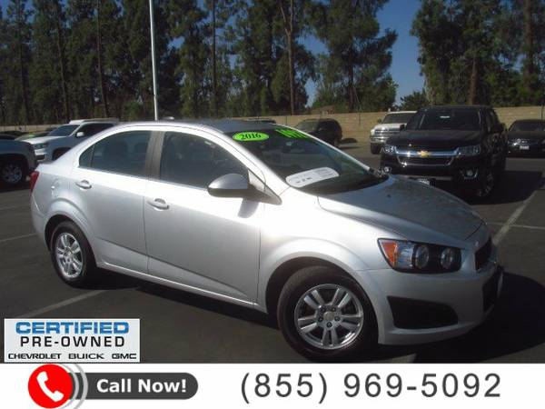 2016 Chevrolet Sonic 4dr Sdn Auto LT 4dr Car *CHEVY*