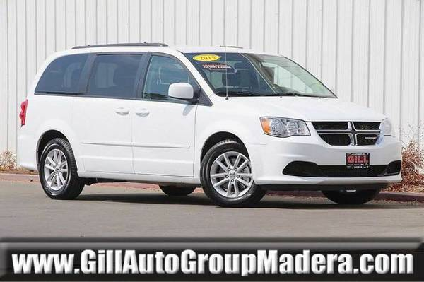 2015 Dodge Grand Caravan Van ( Gill Auto Group Madera : CALL )