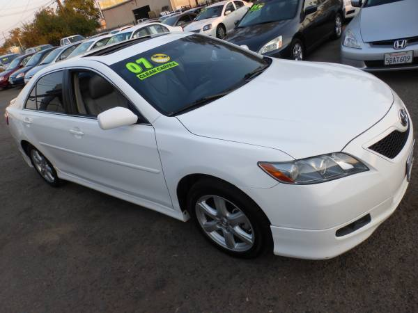 ***** 2007 Toyota Camry SE edition V6 Clean TITLE & CARFAX 140K miles!