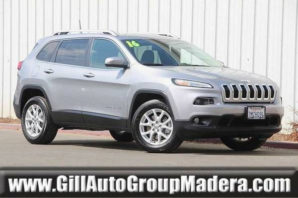 2016 Jeep Cherokee SUV ( Gill Auto Group Madera : CALL )