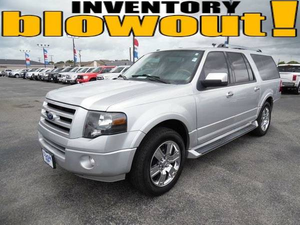 2010 *Ford Expedition EL* Limited - Silver