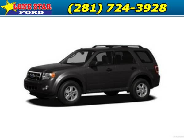 *2012* *Ford Escape* *Limited FWD 4dr* Black