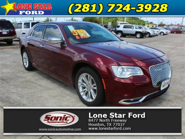 *2016* *Chrysler 300c* *300C 4dr Sdn RWD* Red