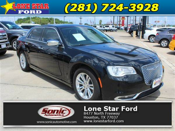 *2016* *Chrysler 300c* *300C 4dr Sdn RWD* Black