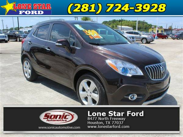 2015 Buick Encore Leather FWD 4dr Maroon