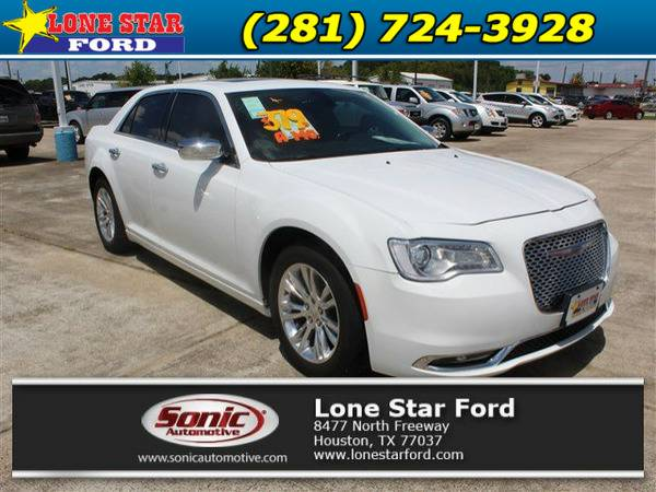 *2016* *Chrysler 300c* *300C 4dr Sdn RWD* White
