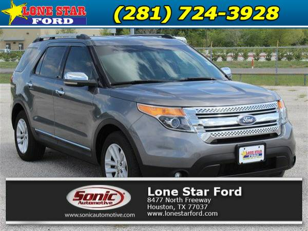 2011 Ford Explorer XLT FWD 4dr Gray