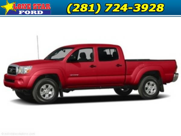 *2008* *Toyota Tacoma* *Prerunner 2WD Dbl V6 AT Natl* Red