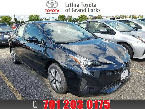 2016 TOYOTA PRIUS THREE MIDNIGHT BLACK METALLIC