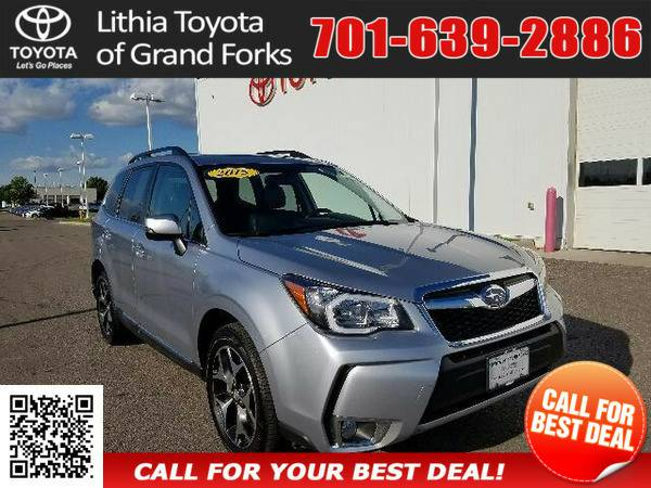 2015 SUBARU FORESTER 2.0XT TOURING SILVER