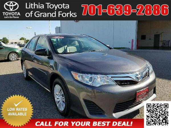 2014 TOYOTA CAMRY HYBRID MAGNETIC GRAY PEARL