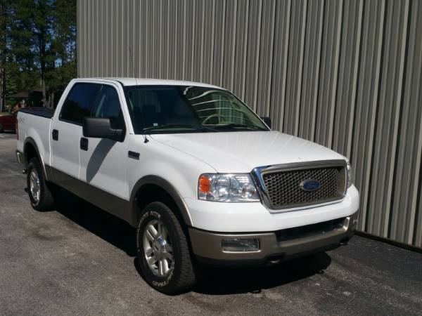 2004 FORD F150 ! 4X4 ! LARIAT ! ONE OWNER ! LEATHER ! RHINO LINER !